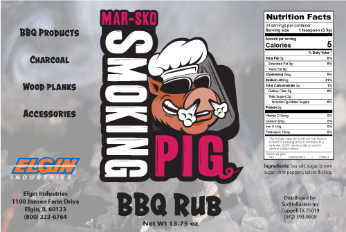 Private Label BBQ Rub