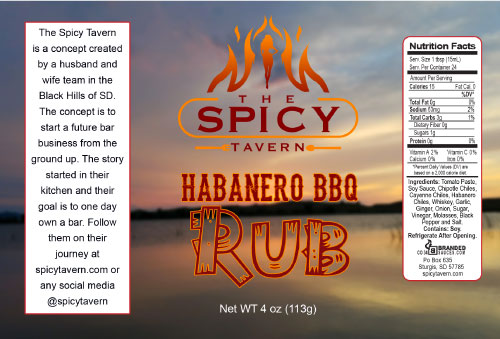 Private Label Habanero BBQ Rub