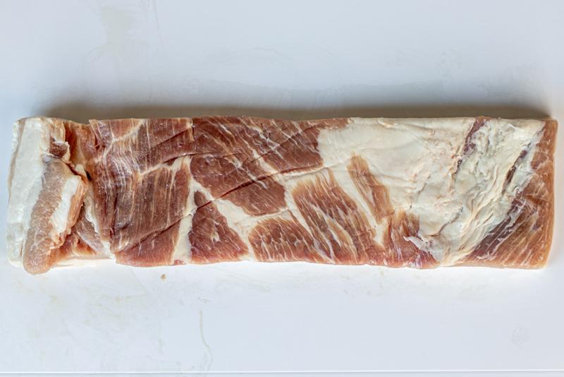 Raw Pork Belly untrimmed