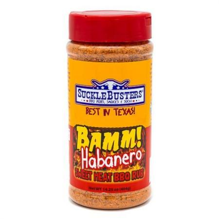 Hot Habanero BBQ Rub